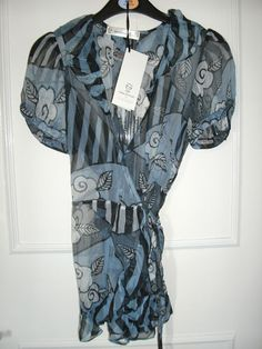 6331bbd23e Pretty Celia Birtwell silk blouse size 10 (other sizes available) - brand  new