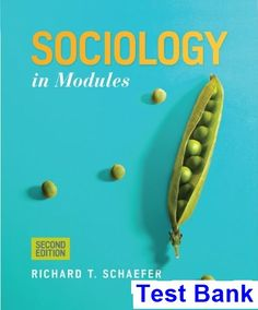 You will download digital wordpdf files for complete solution sociology in modules 2nd edition schaefer test bank test bank solutions manual exam fandeluxe Images