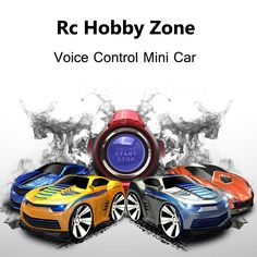 Mini 4 Channels RC Car With Smart Watch Voice Control Remote Control