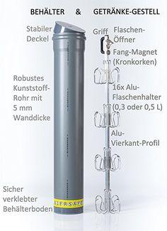 BIERSAFE: Outdoor / Garten Erdloch Bier Kühler, Beer safe cooler / Rohr / Kühlschrank ohne Strom, Bar-Gadget!: Amazon.de: Garten