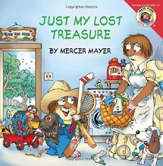 Little Critter: Just My Lost Treasure by Mercer Mayer http://www.amazon.com/dp/0061478067/ref=cm_sw_r_pi_dp_vNhKtb1378NWCWAW