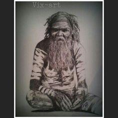 Aboriginal man ~