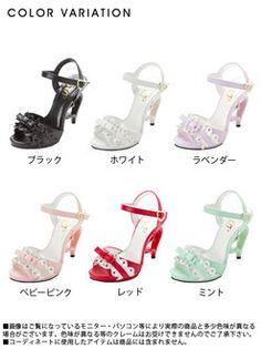 dreamv | Rakuten Global Market: -Book-[most popular girl Heather ♪ scalloped ruffle × reborn by color sandals | DM | PR | |] ◆ 4 / 10 (tentative)