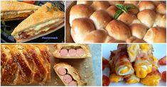 Legyél Te a legjobb házigazda! Ezek a a bulikaják az összes vendégedet lenyűgözik majd! Hot Dog Buns, Hot Dogs, Sausage, Bread, Food, Sausages, Brot, Essen, Baking