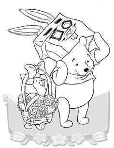 Dibujos para Colorear Winnie the Pooh 2