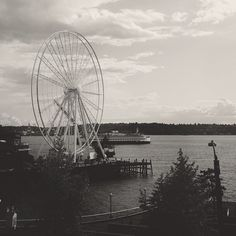 view from pike place market seattle washington @mstetsondesign instagram