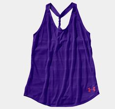 Women's Under Armour Heat Gear -Love this tank so much, want to wear it everytime I exercise. Loose fit & so light.