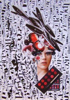 Emilia Elfe (handmade collage) #emiliaelfe #art #artist #collage #handmadecollage #collageart