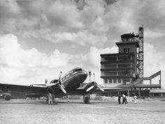 1950 - Aeroporto de Congonhas.