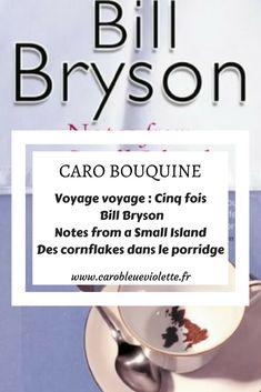 Dans Notes from a Small Island, Bill Bryson effectue un tour du Royaume-Uni, où il a vécu pendant une vingtaine d'années, avant de repartir s'installer aux Etats-Unis (il est depuis revenu vivre en Grande-Bretagne). #BillBryson #récitdevoyage #voyage #roadtrip #UK #lecture