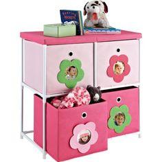 Girls Toy Storage Bins Organizer with Personalized Photo Flowers Kids Play Room  sc 1 st  Pinterest & Circo® Step Stool - Pink | ???s ????? | Pinterest | Kids furniture ...