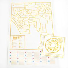 L.A. DIY Food Map, by Ello There