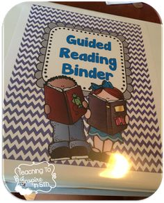 Read about how this teacher organizes her guided reading binder.