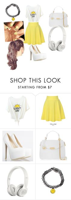"""Party"" by trinity-only ❤ liked on Polyvore featuring QNIGIRLS and Versace"