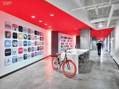 A web of Gensler offices generates a network of technology workplaces.
