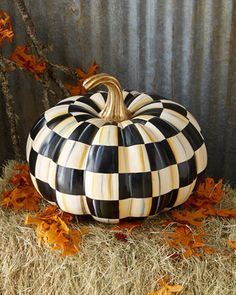 Courtly+Check+Great+Squash+Pumpkin+by+MacKenzie-Childs+at+Neiman+Marcus.