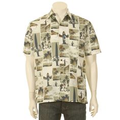 Duke Kahanamoku The Long Ride Men's Hawaiian Shirt. $84.00