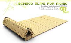 80 Daring Disposable Designs - disposable bamboo cutlery