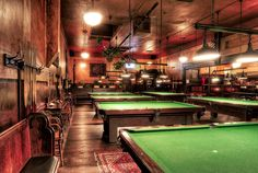 The Pool Hall In Olympic Club Hotel And Theater Centralia Wa Billiards