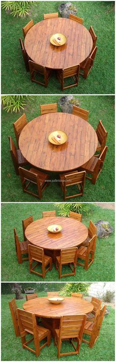 This table and chair project is crafted to give your place a natural look. Do not waste wood pallets; let it be a part of your areain the form of recycled wood pallet crafts;serving you in manyways making your place wondrous and grand.