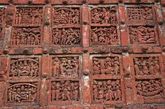 from temple in Bishnupur, India