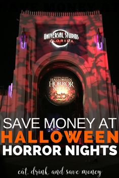 Love theme parks and a good fright? Then you've got to check out Halloween Horror Nights at Universal Studios. Get some of my favorites tips for a visit and learn how to save money at Halloween Horror Nights. Halloween Horror Nights Tickets, Halloween Horror Nights Hollywood, Universal Halloween Horror Nights, Universal Studios Halloween, Orlando Travel, Orlando Resorts, Orlando Disney, Universal Horror Nights, Disney World Vacation