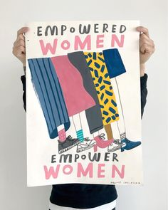 Happy International Woman's Day! Painted protest poster for Woman's March exhibition @unlimitedshopuk in Brighton. Running from the 8th -…