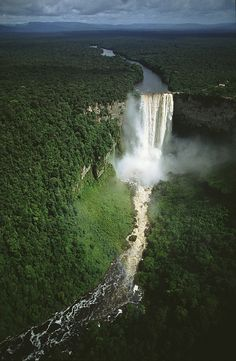 Kaieteur waterfall in Guyana