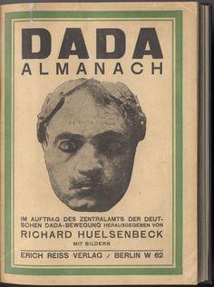Couverture de Dada Almanach, juin 1920