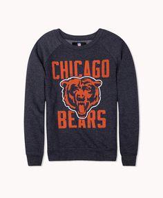 Chicago Bears Logo Pullover | FOREVER 21 - 2022696449