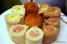 Afternoon Tea Sandwiches at the Mandarin Oriental in London
