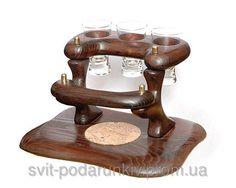 Мини бар из дерева в подарок мужчине - Магазин сувениров и подарков «СУВЕНИРЫ» в Харькове