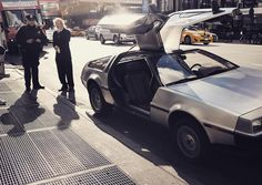 The Doc got a ticket. #backtothefuture  #delorean #shotbystow #NYC #bttf2015