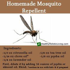 DIY Homemade Mosquito Repellent