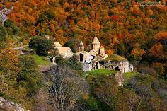 Autumn at Dadivank, Artsakh , Armenia.