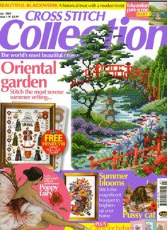 Cross Stitch Collection July 2005