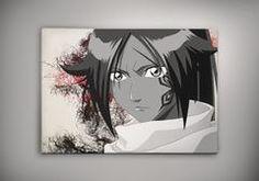 """Bleach Anime Manga Watercolor Print Poster Ichigo Kurosaki Shinigami Rukia Kuchiki Renji Abarai Byakuya Kuchiki Zarazki Kenpachi Hollow - US - 11"""" x 17"""""""