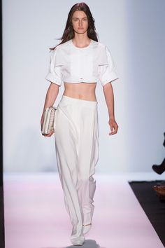 Crisp & feminine at BCBG Max Azria Spring 2014 RTW - Review - Fashion Week - Runway, Fashion Shows and Collections - Vogue #NYFW