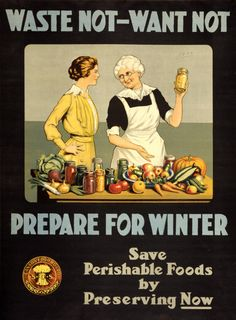 Reprint of a US WWII Propaganda Poster