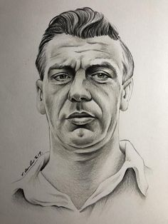 Hand drawn original drawing artwork , pencil ( not a print ) Signed by myself Johnny Haynes , Fulham FC legend size paper Dated 2019 Erin Smith, Fulham Fc, Suranne Jones, Michael J Fox, Beautiful Artwork, Teen Wolf, Great Artists, Pencil Drawings, How To Draw Hands