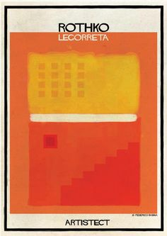 ARTISTECT: Famous Paintings With An Architectural Twist Rothko - Legorreta