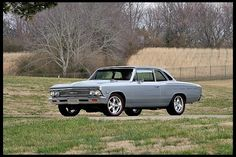 1966 Chevrolet Chevelle Resto Mod presented as Lot at Indianapolis, IN Chevrolet Malibu, Chevrolet Chevelle, 1966 Chevelle, General Motors, Super Chevy Magazine, Crate Motors, 5 Speed Transmission, Muscle Power, Layout