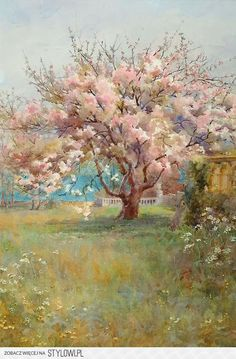Charles Edward Georges - Blossom Time, 1900 na Stylowi.pl