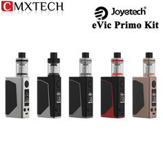Joyetech eVic Primo with UNIMAX 25 Starter Kit 1-200W Electronic Cigarette eVic Primo Box MOD Vape and 5ML Atomizer E-Cigarettes