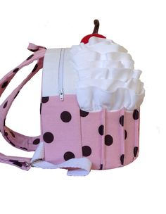 The Cozy Cupcake Backpack PDF Sewing Pattern by Cozy Nest Designs at PatternPile