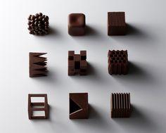 佐藤オオキのオリジナルチョコレート「ショコラテクスチャ」