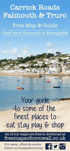 Home - Free Maps of Cornwall Cornwall Map, Free Maps, Truro, Tourist Information, Us Map, Home Free, Dog Walking, Campsite, Places To Eat