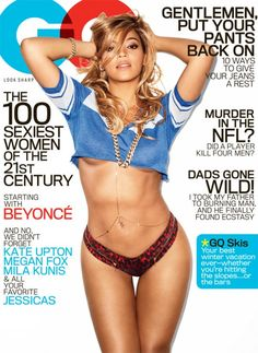 Beyonce's sexiest woman of the century cover shoot!