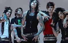 falling in reverse, rock, and ronnie radke image Emo Bands, Music Bands, Rock Bands, Papa Roach, Breaking Benjamin, Sara Bareilles, Garth Brooks, Falling In Reverse, Escape The Fate