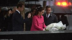 Kate Middleton, Duchess of Cambridge and Prince William at 9/11 memorial | Daily Mail Online